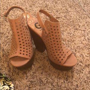 Blush heels!!